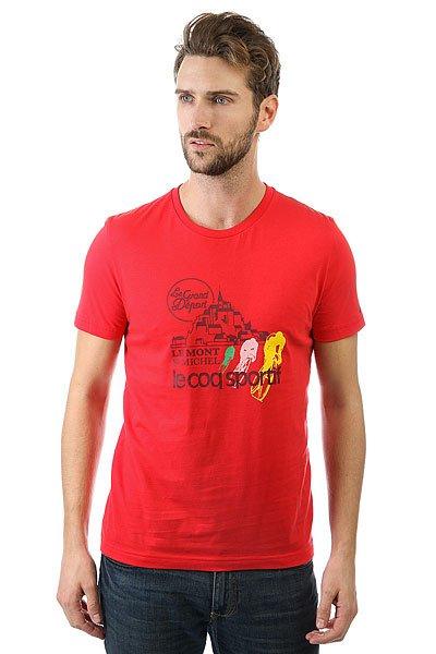 Футболка Le Coq Sportif Tdf Fan N°1 Vintage Red