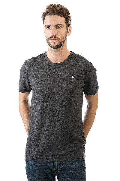 Футболка Le Coq Sportif Sureau Tee N°2 Dark Heather Grey