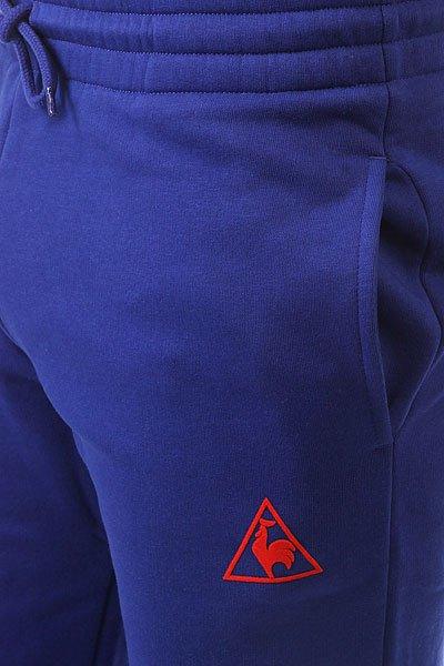 Штаны спортивные Le Coq Sportif Pant Bar Slim Brushed Ultra Blue