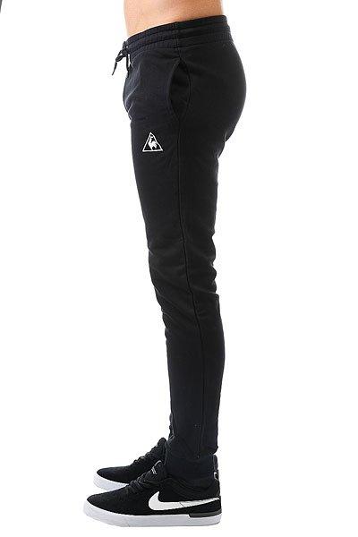 Штаны спортивные Le Coq Sportif Pant Bar Slim Unbr Black