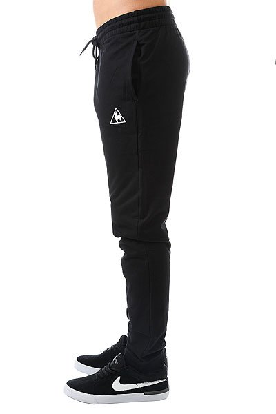 Штаны спортивные Le Coq Sportif Pant Bar Regular Light Br Black