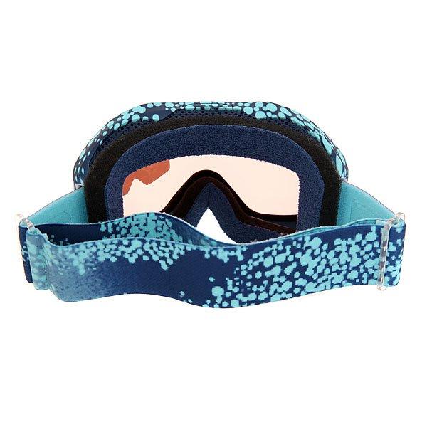 Маска для сноуборда женская Roxy Sunset Art Seri Cloudofdots/Blue Rad