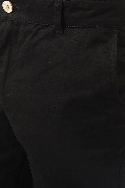 Штаны прямые TrueSpin Classic Chino Black