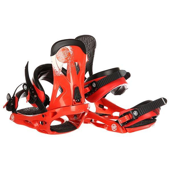 Крепления для сноуборда Santa Cruz Sigma Emy Red