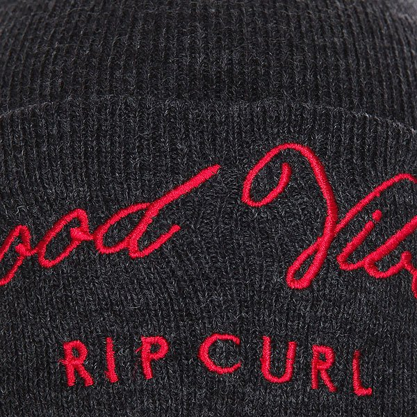 Шапка женская Rip Curl Good Vibes Black Marle
