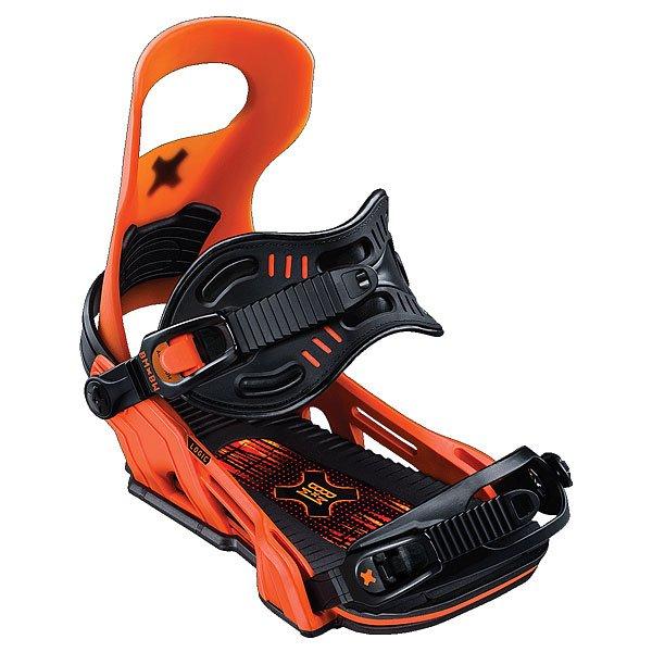 Крепления для сноуборда Bent Metal Logic Bind Orange