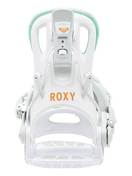 Крепления для сноуборда женские Roxy Rock it Dash White