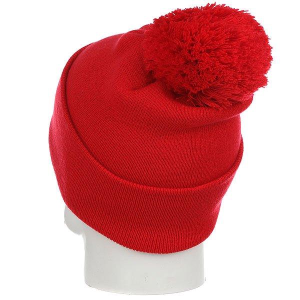 Шапка Les Ff Pom Pom Red