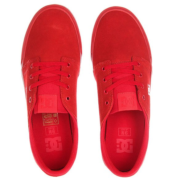 Кеды низкие женские DC Trase Sd Red
