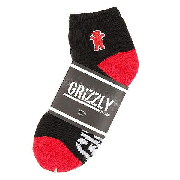 Носки низкие Grizzly Og Bear Low Cut Socks Black