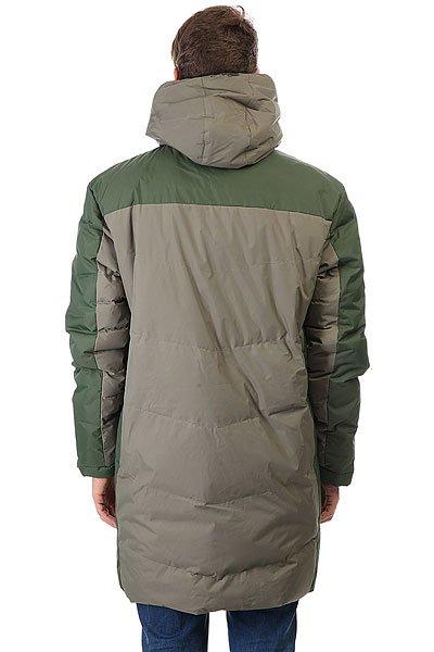 Куртка парка Запорожец Telogreika Dark Olive/Green