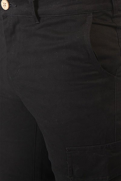 Штаны прямые TrueSpin Cargo Joggers Black