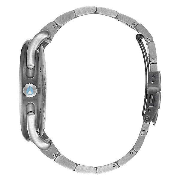 Кварцевые часы Nixon C45 Ss Gunmetal/Aqua Sunray