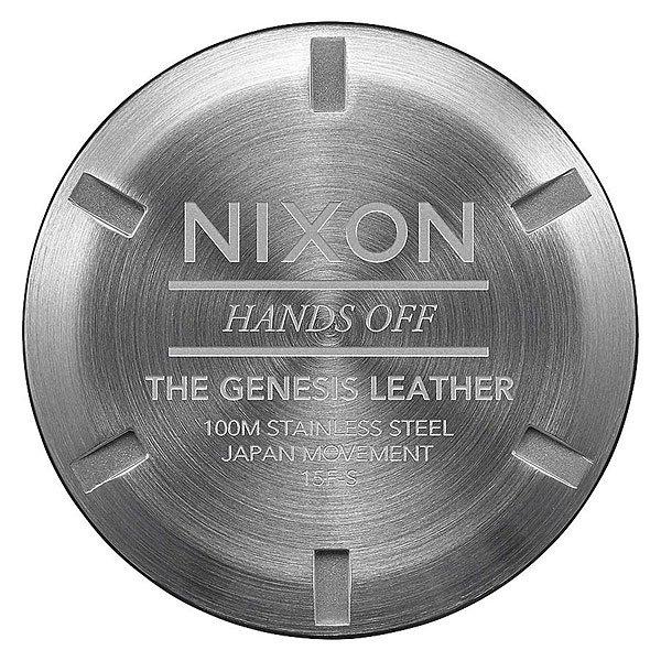 Кварцевые часы Nixon Genesis Leather White/Saddle