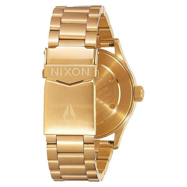 Кварцевые часы Nixon Sentry 38 Ss All Gold