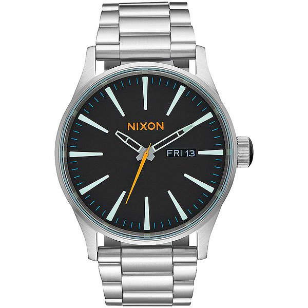 Кварцевые часы Nixon Sentry Ss Black/Multi