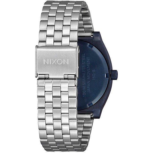Кварцевые часы Nixon Time Teller Navy/Silver
