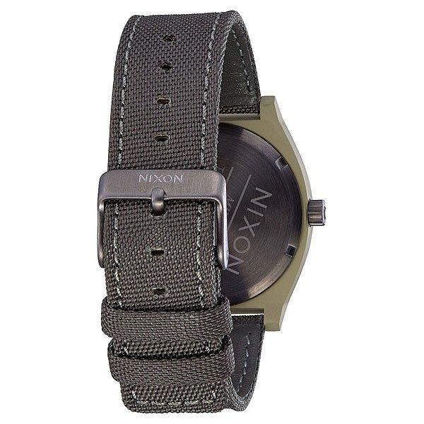 Кварцевые часы Nixon Time Teller Sage/Gunmetal