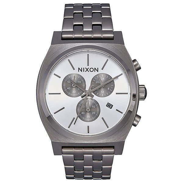 Кварцевые часы Nixon Time Teller Chrono All Gunmetal