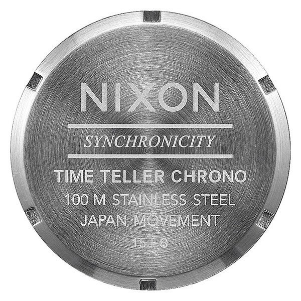 Кварцевые часы Nixon Time Teller Chrono Black Sunray
