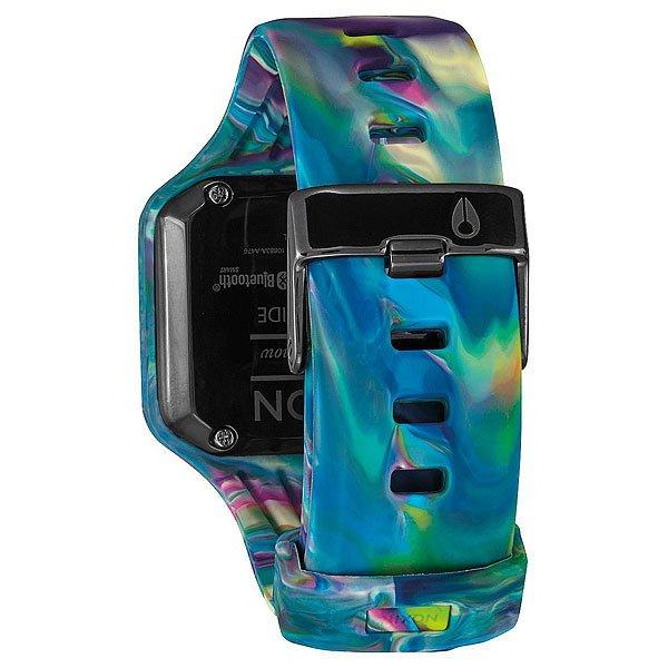 Электронные часы Nixon Ultratide Marbled Multi