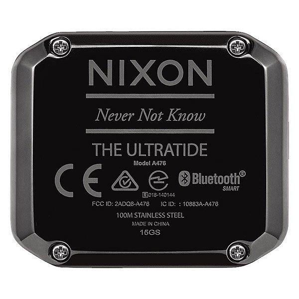 Электронные часы Nixon Ultratide Red/Gunmetal