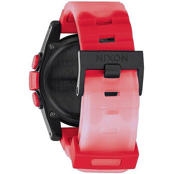 Электронные часы Nixon Unit Red Fade