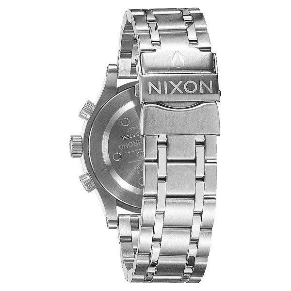 Кварцевые часы женские Nixon 38-20 Chrono Black