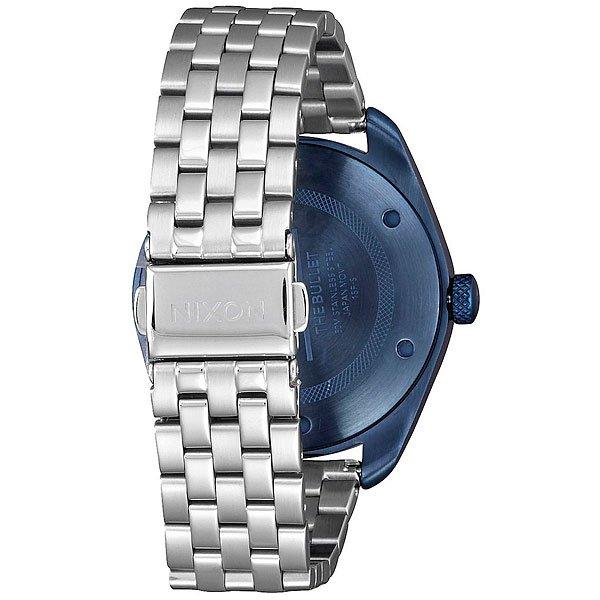 Кварцевые часы женские Nixon Bullet Navy/Silver
