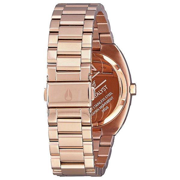 Кварцевые часы женские Nixon Catalyst All Rose Gold