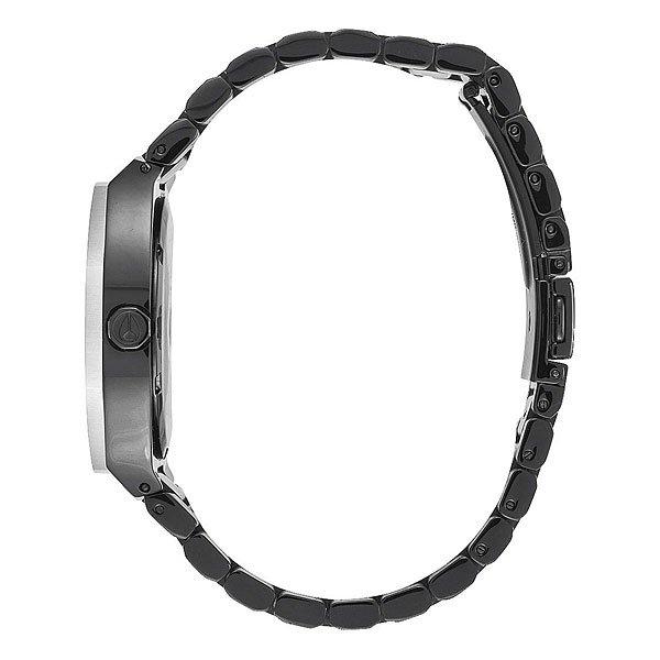 Кварцевые часы женские Nixon Catalyst Black/Silver