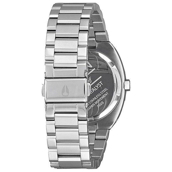 Кварцевые часы женские Nixon Catalyst Silver/Rose Gold