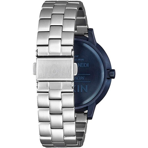 Кварцевые часы женские Nixon Kensington Navy/Silver