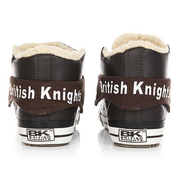 Кеды утепленные женские British Knights Roco Dk Brown