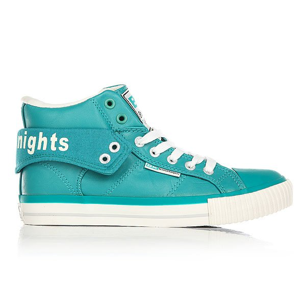 Кеды высокие женские British Knights Roco Tropical Green/Lt.grey