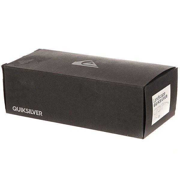 Очки Quiksilver Deville Shiny True Black/Real Grey