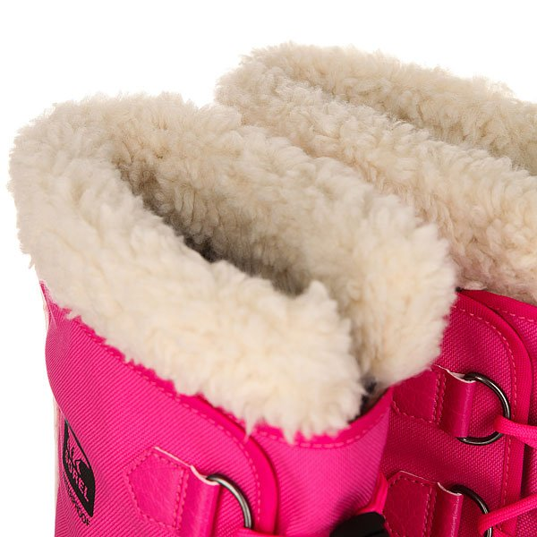 Сапоги зимние детские Sorel Yoot Pac Nylon Haute Pink
