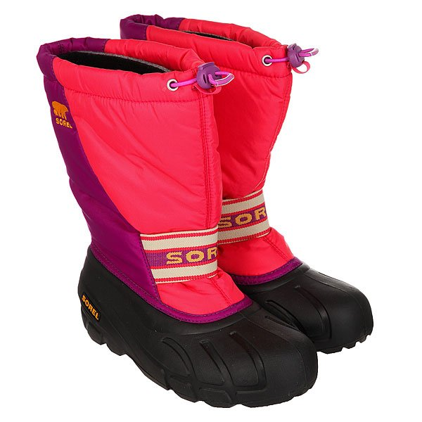 Сапоги зимние детские Sorel Youth Cub Afterglow An Bright Plum