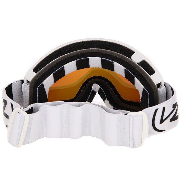 Маска для сноуборда Von Zipper Cleaver White/Fire Chrome