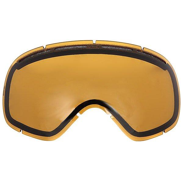Маска для сноуборда Von Zipper Fishbowl Black Gloss/Clear Chrome Orange