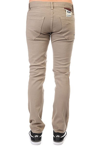 Джинсы узкие Billabong Slim Outsider Color Khaki