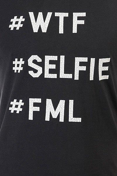Футболка Globe Selfie Black Acid