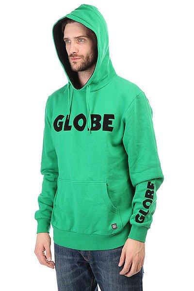 Толстовка кенгуру Globe Corpo Hoodie Kelly Green