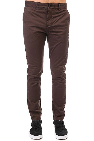 Штаны узкие Globe Goodstock Chino Oil