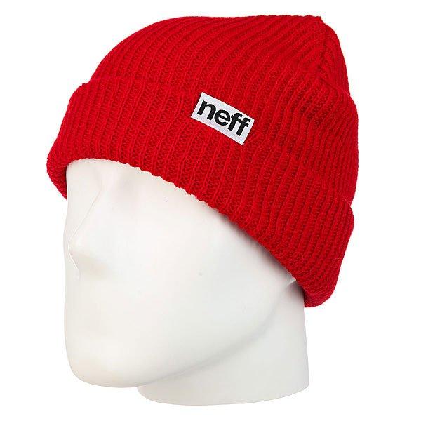 Шапка Neff Fold Beanie Red