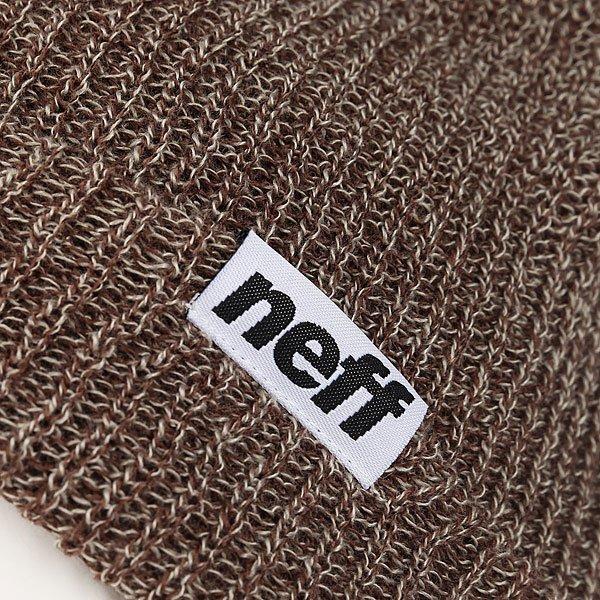 Шапка Neff Fold Heather Beanie Pine/Twill