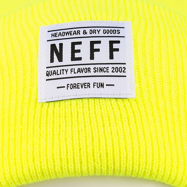 Шапка Neff Lawrence Beanie Lime
