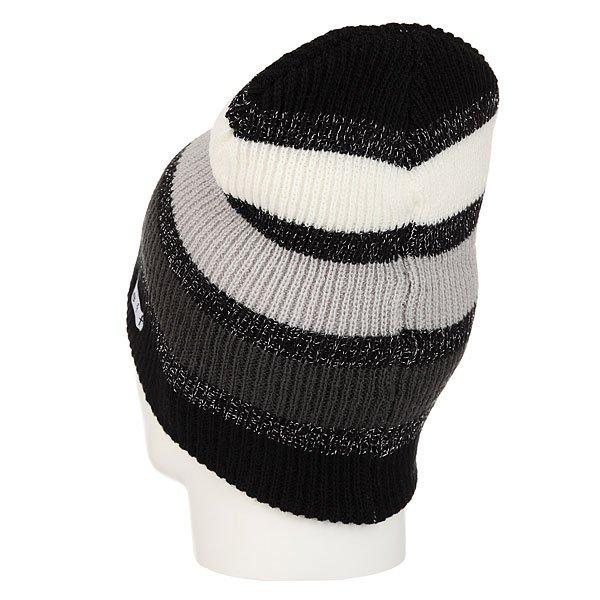 Шапка носок женская Neff Spark Beanie Black