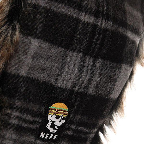 Шапка ушанка Neff Slavic Trapper Black