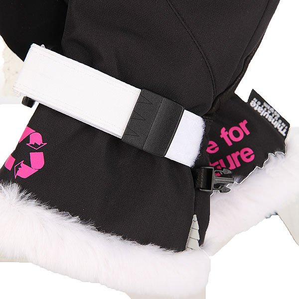 Варежки сноубордические женские Picture Organic Jam Black